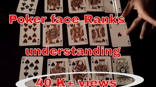 How to play Poker Step by step Hindi English   Ranking In Easy Way