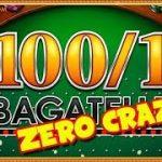 100 to 1 Bagatelle FOBT Roulette