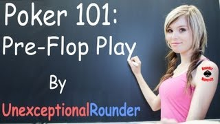 Texas Holdem Poker Strategy – Preflop Strategy – Pre Flop Poker