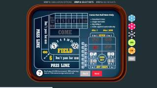 CrapsForward.com – Online Craps Strategy Simulator