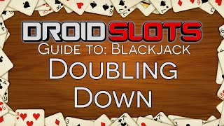 How To Play Blackjack – Double Down In Blackjack