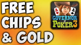 Governor of Poker 3 Hack – How To Cheats GOP3 For FREE Chips & Gold By Use Generator/App Tool