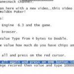 Texas Holdem Poker  Hack. Using Cheats Engine