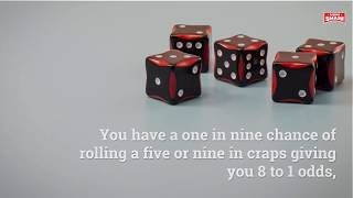 How the Odds in Craps Are Calculated