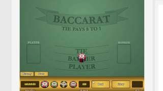 Baccarat Cheat Sheet!!!