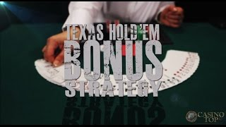 Texas Hold'em Bonus Poker Strategy