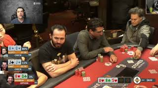 Poker Strategy: Crush Live Poker Subscriber Finds His Bluff w King High @ StonesLivePoker