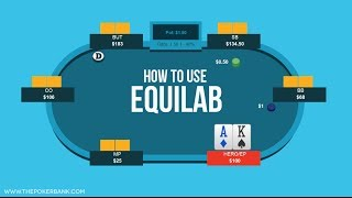 How To Use Equilab (Free Poker Equity Calculator)   Poker Quick Plays