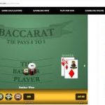 Baccarat Wining Strategy with MM 1/12/19