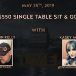 $550 Single Table Sit & Go with Justin & Kasey