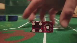 Dice control/ Dice Influence. Inline straight throw. Hardway set. Craps strategy