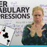 Learn English – Vocabulary & Expressions for POKER and other card games