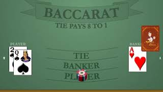 [Round 1] 'The Come Up' Baccarat Betting System + Wins 90% of the Time + $5-$50 MAX BET