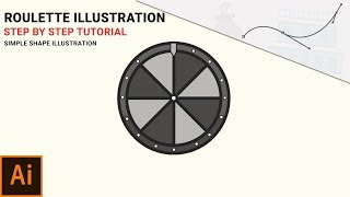 Learn How to Make a Roulette Illustration in Adobe Illustrator (Step by Step)