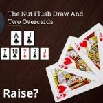 Poker Strategy: The Nut Flush Draw And Two Overcards