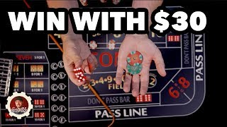 How to Win at Craps…Safe & Slow – Craps Betting Strategy