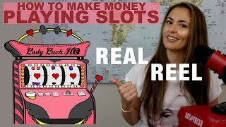 How to make MONEY playing SLOTS | Slot Machine Tips