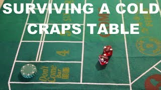 Surviving A Cold Craps Table, Betting the Don't Come and Lay Bets
