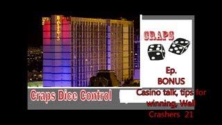 Craps Dice Conrol  Ep  173    (Bonus) Casino, winning,
