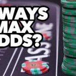 Craps Maximum Odds Bet