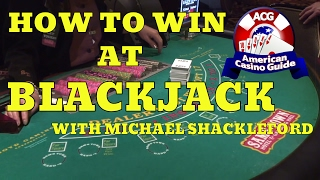 """How to win at blackjack (21) with gambling expert Michael """"Wizard of Odds"""" Shackleford"""