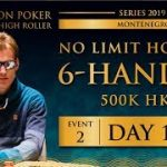 Triton Montenegro 2019 – NLH 6-Handed €55K – Day 1