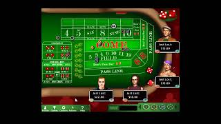 The big money strategy of playing casino craps!