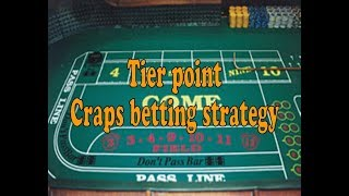 AWESOME Craps betting strategy that will earn you more tier points on your players card!!