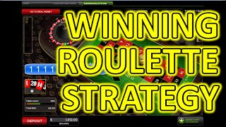 Winning Roulette Strategy – Play online roulette and win almost every time