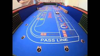 $500. BUY-IN. Live craps Roll From The Outhouse.