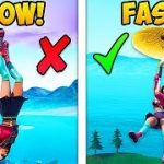 *NEW META* HOW TO LAND FAST IN SEASON 9! – Fortnite Funny Fails and WTF Moments! #554