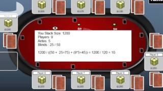 Poker Tips How to Calculate M Zone in Texas Holdem Poker Tournaments