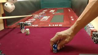 CRAPS Strategy Dice Control Throw | STAGGERED Stack Grip