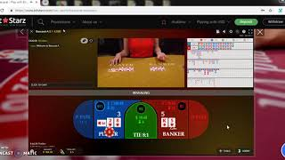 Real money flow playing baccarat earn daily $10 (video – 10) ;)