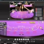 Live baccarat with progressive jackpot