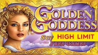 Golden Goddess Slot – ALMOST JACKPOT LONGPLAY – All Bonuses!