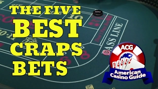 The Five Best Bets in the Game of Craps with Syndicated Gambling Writer John Grochowski
