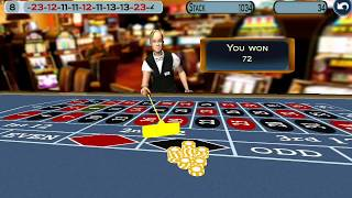 How to win $700 in 9 minutes at Roulette.