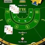 """Baccarat Strategy. Playing on """"Player"""" and not on """"Banker"""". No tie bet played."""