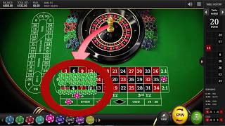 Roulette Strategy, Tips & Tricks to place bets. Won the game this time.