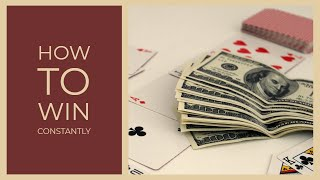 How To  Win Zynga Poker Sit And Go Tournament (every time)