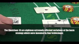 Blackjack Card Counting H17 Illustrious 18 Basic Strategy deviations flash card practice