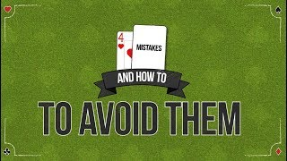 Blackjack Strategy: 4 Common Blackjack Mistakes (And How to Avoid Them)