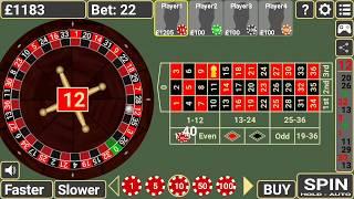 Roulette – Low Betting-Low Risk + Must Profit.