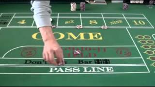 The Iron Cross in Craps: Play on 5, 6, or 8.