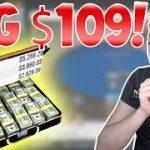 BIG HAND on the  Big $109 – FINAL TABLE Bubble!