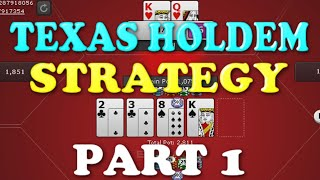 """Texas Holdem Strategy"" Real Cash 