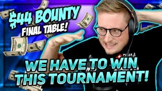 CAN WE WIN THIS TOURNAMENT TO SAVE THE DAY?!   PokerStaples Stream Highlights