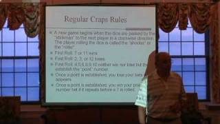Craps 101-Lecture 4- Rules