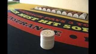 HOW TO DEAL BLACKJACK, DICE; PCI Dealer Sch Dropcut Craps.Pt.2